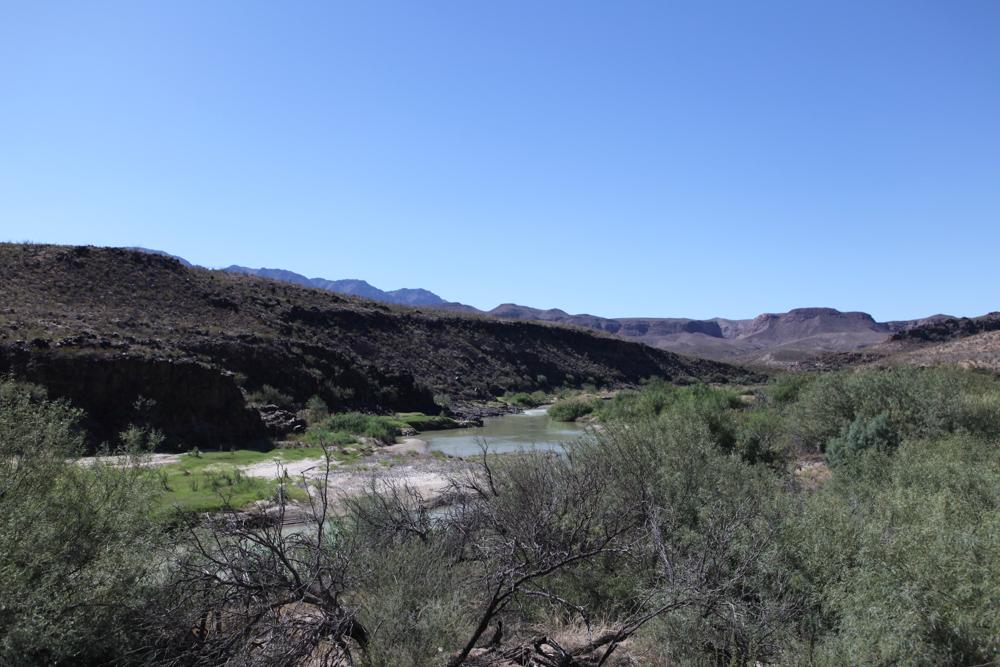 Rio Grande on Hwy 170