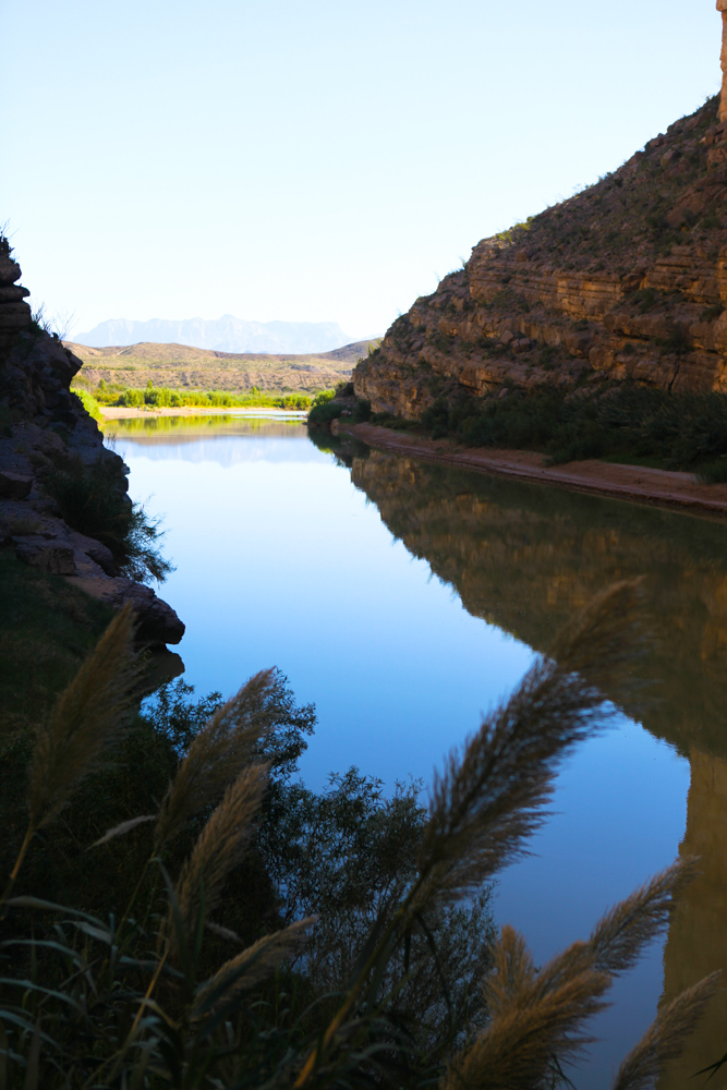 Santa Helena Canyon, Big Bend Nal Park