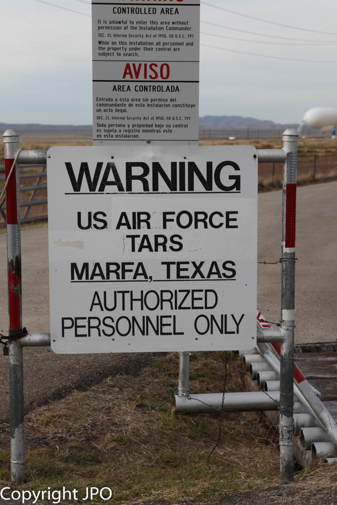 Tethered Aerostat Radar Site