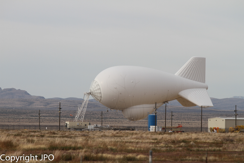 Tethered Aerostat Radar Site